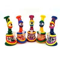 Hookah 3d djur design bong glas handgjorda tecken bongs vattenrör dab rigstrar