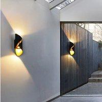 실내 옥외 10W LED 벽 램프 홈 장식, 위아래로 빛 IP65 방수 습기 방지 복도 조명, 침실 계단 램프