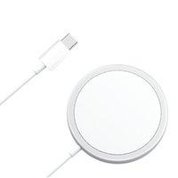 Carregador sem fio de 15w Ímã Tipo C Quick Carregamento rápido carregador magnético para a Apple 1 1 iPhone 12 com MagSafe