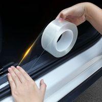 3m Car Stickers Auto Interior Protector Film Door Edge Protective Glue Automobiles Trunk Door Sill Car Body Vinyl Accessories