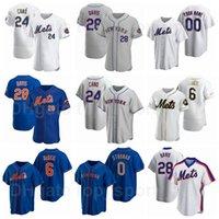 Baseball 28 JD Davis Jersey 6 Jeff McNeil 4 Albert Almora JR 24 Robinson Cano 0 Marcus stroman 33 James McCann Pinstripe Flexbase