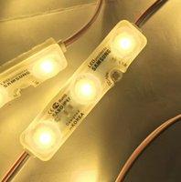 Samsung SMD5630 LED-Modul Lights Injection LED-Module mit Linsenschild-Hintergrundbeleuchtung für Kanalbuchstaben Werbung Lichtgeschäft