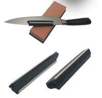 Messerschärfungswinkelführung Küchenmesserschärfer Schnelle Präzision Schärfgladeküche Küchenwerkzeuge Durable Keramikstreifen