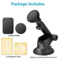 Telescopic Magnetic 11 Xs Max XR 8 6 Suction Cup Car Dashboard Mount Cell Mobile Phone Holder Stand