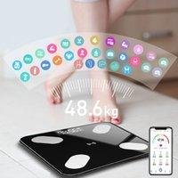 App smart Bluetooth Body Body Body Body Wireless Body Index Indice Bagno Bagno Bilancia Body Composizione del corpo Monitor Analizzatore di salute