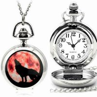 Pocket Watches Small Silver Quartz Watch Chain Necklace Vintage Pendant Clock Gift Fob Jewelry Accessories