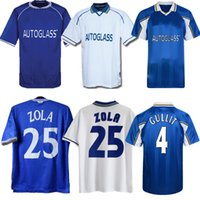 1997 1998 1999 2000 2001 Zola Vialli Wise Retro Soccer Jersey Lebebeboeuf Di Matteo Hughes Desailly Gullit Vintage Klassieke Voetbal Shirt