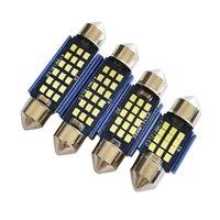 긴급 조명 2021 SMD LED C5W C10W Canbus Festoon 31 36 39 41mm 자동차 전구 인테리어 돔 램프 자동 라이센스 라이트 트렁크 12V 50pcs