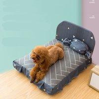 كلب السرير وسادة ل كلب كبير جرو تنفس الكلب منزل وسادة الحيوانات الأليفة عش أريكة بطانية حصيرة للحيوانات 73 s2