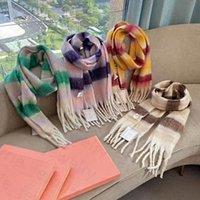 패션 스카프 Pashmina 컬러 격자 무늬 스카프 캐시미어 디자인 목도리 8 색 최고 품질