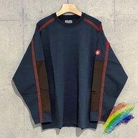 2021 جديد T Camisa Manga Longa Com Estampa Ascempt 20ss 1: 1 Alta Qualidade دي Lavagem Pesachem Batik Solto Remendo Cavv Earg 94PZ