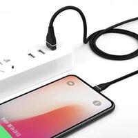 M 3FT Geflochtengewebe 2A Schnelldrehzahl Typ C Micro USB-Kabel für Samsung S8 S9 S10 S7 S6 Rand Note 10 HTC LG Android Phone