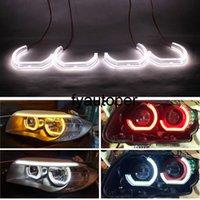Car Daytime Running Light Marker Lights DRL LED Angel Eyes For BMW E90 E92 E93 F30 F35 E60 E53 Ultra bright
