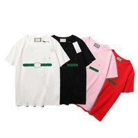 21SS 남성 여성 디자이너 Tshirt 패션 남자 S 캐주얼 티셔츠 남자 의류 스트리트 디자이너 반바지 소매 2021 의류 Tshirts