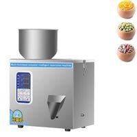 1-200G Intelligent Filling Machine Coffee Powder Granules Seed Wolfberry Weighing Quantitative Food Racking Machine 180W
