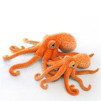 Bambola del giocattolo della peluche del polpo animale marino