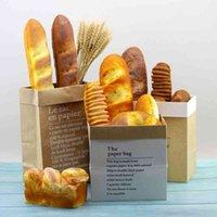 مزيفة محاكاة كعكة عصا المنزل لينة الديكور الخبز التصوير نافذة الدعائم مجموعة خبز نموذج