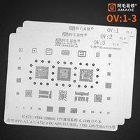 Ferramentas de reparação de telefone celular para OPPO VIVO POWER WiFi Nand CPU RAM PA BGA221 BGA254 MT6755V MSM8940 IC Chip BGA TIN Reballing Stencil Sol