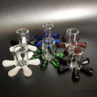 Colorful Carb Cap Stand glass holder for carb caps bubble Terp Pearl ball Quartz Thermal Banger Nails Dabber Glass Bongs Dab Oil Rigs