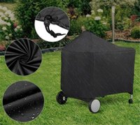 Tools & Accessories 152 X 76 122cm Black Barbeque BBQ Grill Cover For Storage Bag 22-Inch Charcoal Grills Camping