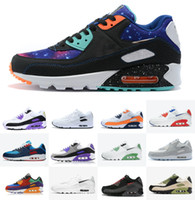 Viotech Sé VERDADERO 2021 hombres Mujeres Sneaker Classic 90 Running QS Shoes Infrared South Beach Deportista Deportes Air Cojín Superficie Zapatos transpirables