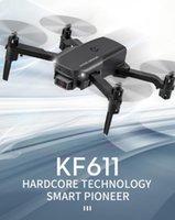 KF611 무인 항공기 4K HD 카메라 전문 공중 사진 헬리콥터 1080P 와이드 앵글 와이파이 이미지 전송 어린이 선물