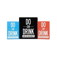 Do or Drink Party Card Game for College Camping 21st Birthday Parties Funny Men and Women Board games