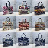 2021 French Marke Designer Shopping Tasche Damenmode Luxus Luxury Printed Stickerei Buch Tote Handtasche