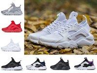 Huarache Koşu Ayakkabıları 4.0 1.0 Erkekler Kadınlar Ayakkabı Üçlü Beyaz Siyah Kırmızı Gri Huaraches Erkek Eğitmenler Açık Spor Sneakers Yürüyüş Jogging