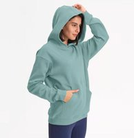 L-67 Hoodies Outdoor Leisure Sweater Gym Clothes Women Tops Workout Fitness Loose Thick Yoga Jackets Exercise Running Hooded Coat