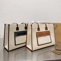 21SS 디자이너 핸드백 여성 쇼핑백 패션 클래식 인쇄 편지 totes 고품질 여성의 기질 숄더 가방