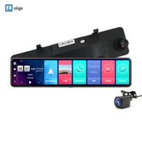 Auto DVR DVRS 12 pollici Mirror Android navigazione GPS 2G + 32G ROM Dash Cam FHD 1080P Videocamera Videocamera Recorder Monitoraggio remoto