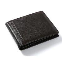 Wallets Men's Wallet Short Leather Litchi Small Grain Korean Style Casual Youth Women's Men