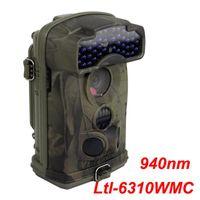 NEUE LTL ACORN 6310WMC HD 1080P 100 Grad Weitwinkel 12MP Scouting Jagdkamera Spiel Camping Kameraaufzeichnungen Sound Blue 940nm