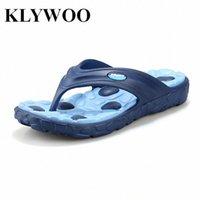 الجملة حار بيع أصيلة جديدة الصيف الأزياء زحافات الرجال الصنادل الذكور مسطح مسطح الشاطئ النعال الرجال المتسكعون الأحذية الأحذية ل SA I66L #