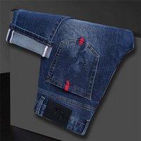 High Quality Mens Designer Luxurys Jeans Light Color Distressed Motorcycle Biker Street Wear Man Jean Rock Slim-leg Fit Ripped Hole Stripe Famous Pants