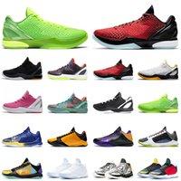 【code:OCTEU03】Kobe 6 Protro Grinch Zapatillas de baloncesto Hombres Bruce Lee What If Lakers Big Stage Chaos 5 Rings Zapatillas de deporte para hombre Zapatillas deportivas
