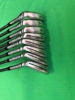 Golf Clubs Sim Max Irons Golf Grower Set 4-9APS R / S / SR Flex Grafite / Steel Albero con Cavallo