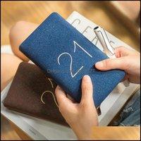 Notes Notepads Supplies Office School Business & Industrial2021 365 Schede Book Luxury Agenda Er Portable Pocket Mini 48K Calendar Soft Beau