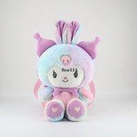 40 см трансформаторный кошка мелодия плюшевая кукла милая девушка сердца мешок с крестообразным мешок плюшевые куклы