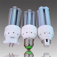 Лампы Lampada GX10 G24 E27 светодиодная лампочка 10W 12W 14W 85V-265V / AC 360 DEGELEEA LAMPLEE SMD2835 BOMBILLAS
