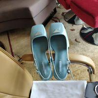 2021 Exquisite Qualität formale Kleid Schuhe Flachkopf Damen Designer Hochzeit Bankett Special Shape High Heel Leder Luxus Passende Kasten Größe 35-41