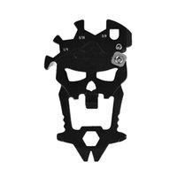 Outil de combinaison multifonctionnel de crâne extérieure Multi-fonction bouteille ouvre-bouteille Tournevis à clé à couteaux de cousuziste 192 W2
