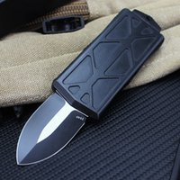 EDC Mini automatic knife Zinc Alloy Handle Outdoor Camping knives 3styles knive Match primary color box