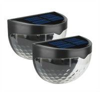 Solar Street Light LED Outdoor Impermeabile Sensore solare Sensore a muro Automatico Automatico On / Off Garden Fence Lamp