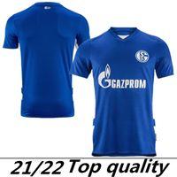 2021 2022 FC Schalke 04 Futbol Formaları 21/22 Maillot De Ayak Serdar McKennie Caligiuri Embolo Bentaleb Burgstaller Futbol Üniforması Gömlek