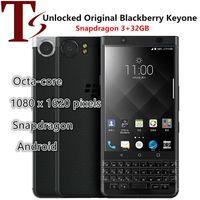 تم تجديد هاتف BlackBerry الأصلي الأصلي 4.5 بوصة Octa Core 3GB RAM 32GB ROM 12MP كاميرا مقفلة 4G LTE الروبوت الهاتف الذكي