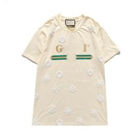 13 Summer Tasarımcı T-shirt erkek ve kadın Tops Kaplan Başkanı Mektup Nakış T-shirt erkek Marka Kısa Kollu T-shirt kadın Üst Çanta