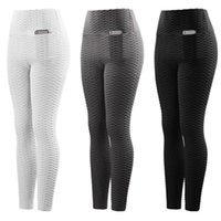 Yoga Outfits Pants Leggings Women Fitness Wear Workout Sports Running Push Up Gym Elastic Slim Tight-fitting Stretch Sport Pant