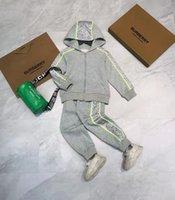 infant boy clothe set designer kid autumn clothing sets 100-150 cm long sleeve shirt+pants 2021 boys and girl clothes wholesale